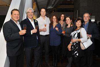 Daniel Richard et l'équipe de Vini-Quatro / Univins