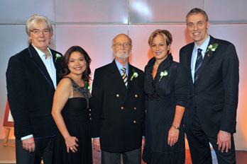 Daniel Richard en compagnie des Lauréats 2013